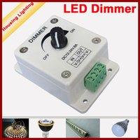DC12V/24V Manual Single Color LED Dimmer for LED Strip, Bulb, Spotlight, and Others, 3 Pieces/Lot [Housing Lighting]