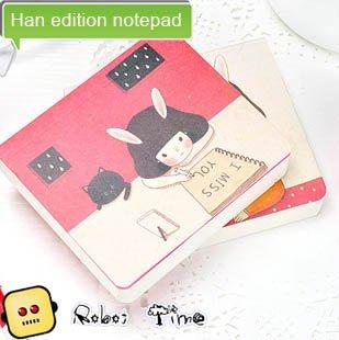 Han edition notepad, pocket this miss rabbit story(China (Mainland))