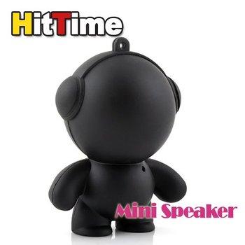 Mini Cool Black Boy Portable Speaker for MP3 PC   [3489|01|01]