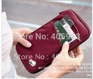 Free shipping 6pcs/lot Portable multi-purpose travel bag Handbag busines card ID storage bags
