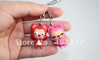 "Free shipping,Mini 3D Plastic Ali Bags strap or Cell Phone strap,Width * Height: 0.8"" x 1.2"""
