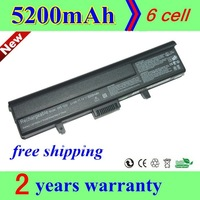 long life High quality + new 6 Cell Laptop battery for Dell TK330 XPS M1530 1530 TK330  black long life+gift