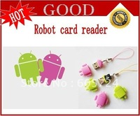 New Android Robot card reader Free shipping