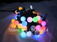 [Seven Neon]Free DHL shipping 6sets 220V 50bulbs/pcs colorful led lingting bulbs for X'mas,holiday and hotel decoration