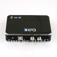 [365+1Days]wholesale-Digital Satellite DVB-S USB TV Receiver Card Tuner Box 1pc Free Shipping 901743-YY-006
