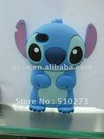 new year new design! stitch cute case for iphone 4G silicone case