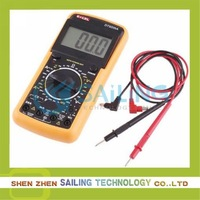 Free shipping DT9205A AC/DC Professional Electric Handheld Tester Meter Digital Multimeter,Dropshipping, Retail Wholesale