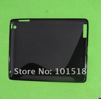 5pcs/lot Free shipping New S-line TPU Gel Case Protector for Apple iPad 3 4G