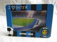 Wholesale Inter Milan rectangular photo frame/ bule fans photo album box