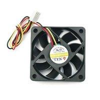Free Shipping Promotion 3 Pin 12V PC Computer VGA Fan Cooler Heatsink 60mm Dist Aluminum Base Wholesale E02030035