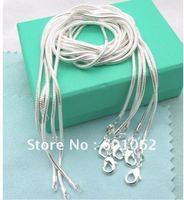 """wholesale 10pcs/lot  1mm 925 silver chain/necklace 16""""18""""20""""22""""24""""  hot sale new arrivel"""