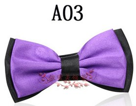 Free shipping beautiful  man and women Married  neck tie  full dress bow tie  10style   100pcs
