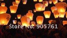Free DHL Shipping sky lantern multiple Colors 300pcs/lot Promotion Chinese Conventional Sky Lantern, Festival Lanterns(China (Mainland))