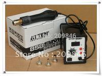Freeshipping ATTEN AT858D+ Hot Blower Heat Gun 3 FREE nozzles,SMD Hot Air Rework Station ,AT300025