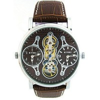EYKI 8383 luxury business double movement  mechanical men wrist  watch