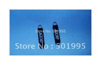 free shipping of custom logo design of 2designs mixed a lot of 800pcs soft pvc zipper