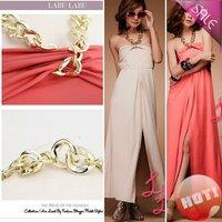 Retail ] Fashion Black Beige Color Career Lady Winter Dress Women Dresses 80