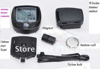 free shipping waterproof wireless Bicycle Bike Computer LCD Odometer Speedometer
