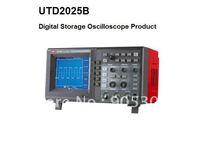 250MS/s sample rate Monochrome LCD 2 channels Bench Type Digital Storage Oscilloscopes UTD2025B