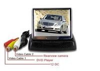 "Good quality 3.5"" LCD Car Monitor Foldable car monitor"