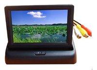 "Good quality 4.3"" LCD Car Monitor Foldable car monitor"