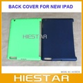 Latest! Hard back cover for New IPAD 3, Smart Cover Partner, Back Case for IPAD New