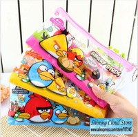 Free ship!12set!Cartoon Stationery Set /Pencil sharpener +Pencil Case+Pencil