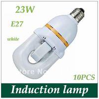 U style 23W Electrodeless induction lamp electrodeless lamp free shipping 10PCS