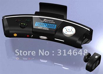 Steering wheel Bluetooth handsfree speakerphone car MP3 player FM transmitter