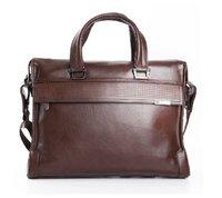 Сумка 2012 Fashional Genuine leather High quality hand bag, brown color man's bag, shoulder bag, handbags