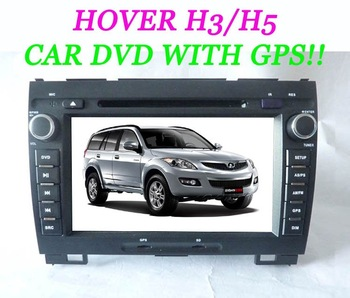 New arrive!Indash Great Wall H3/H5 CAR audio with GPS/MP3/MP4/DIVX TV/Radio/ BlUETOOTH/USB/IPOD/Amplifier.GPS map for free!
