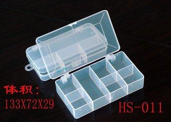 (Top sell)Plastic  fishing tackle box Polyvinyl chloride material tool box