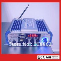 HY600 Power Amplifier USB SD DVD CD FM MP3 Digital 2 Channel amplifier