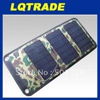 High efficiency  solar panel / 5W Folding solar charging bag / Fashion folding purse type solar energy bag