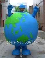 Custom Earth Mascot Costumes Advertising Costumes Fancy Dress Costumes Adult Size Free Shipping