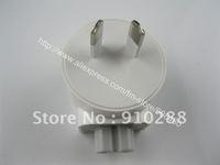 200pcs/lot AC Power Adapter AU Detachable Plug Head For MACBOOK IPAD 1 IPAD 2 AC Adaptor