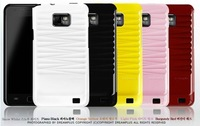 New Arrival korea  Linear pure color sereis case for samsung S2 9100 30lot/lot DHL free shpping