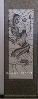 oriental asia art chinese scroll brush painting dragon