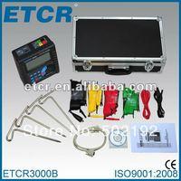 ETCR3000B Earth Resistance Soil Resistivity Tester