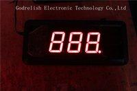 Mini led electronic shower  timer