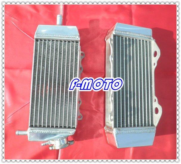 2004 2005 KAWASAKI KXF250 KX250F alloy aluminum motorcycle radiator KXF 250 KX 250 F 04 05(China (Mainland))
