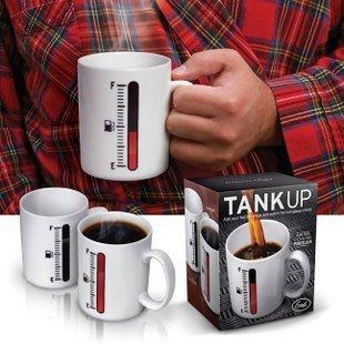 #43 Most creative gift present ceramics color change mug diy cup magic mug thermometer design freeshipping