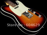 Free Shipping Custom Shop Telecaster Custom Guitar 3-T Sunburst