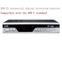 Support multiple PLP HD DVB-T2 terrestrial digital receiver,Compatible with DVB-T support mpeg4/H.264 USB+HDMI 1080p