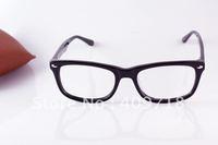 Acetate eyeglasses Frame Men's Brand Name Designer Plastic fashion optical glasses Black clear lens 5228 53mm Free shipping