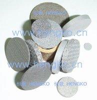 D3.3*H3 Stainless steel powder sintered filter disc