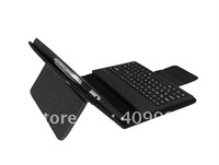 DHL,20pcs Wireless Bluetooth Keyboard Tablet Case For Samsung Galaxy Tab 7.0 Plus P6210 P6200, Free shipping