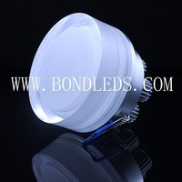 hot sale 6w led acrylic light/high power led downlight/6w led round light,warm white 3000-3500K,6pcs leds