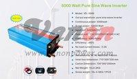 5000W/5KW 24Vdc to 220V ac Pure Sine Wave Power Inverter  (10kw/10000w peak power) Free shipping