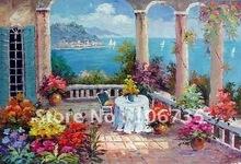 wholesale mediterranean landscape painting